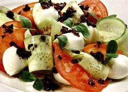Salata cu mozzarella