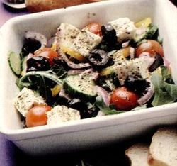 Salată de legume cu oregano