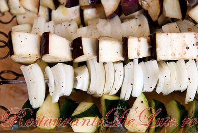 Salata de legume la gratar
