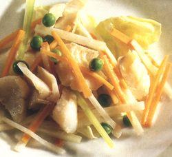 Salată de morun cu legume