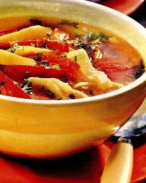 Supă de legume picantă
