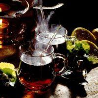 Ceai verde cu lime