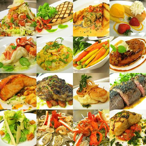 Salată cu peşte şi porumb