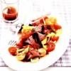 Salata_cu_friptura_de_vita_si_dressing_de_hrean