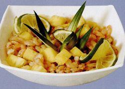 Salată cu curcan si ananas