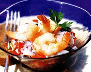 Reteta salata cu fructe de mare