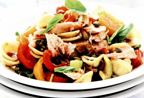Salata de paste cu ton si capere