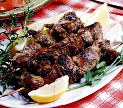 Retete internationale: Souvlaki
