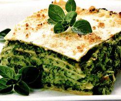 Lasagna cu dovlecel si pesto