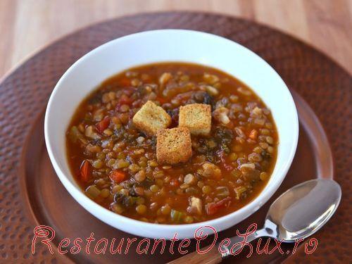 Mancare de conopida cu ghimbir si pudra de curry