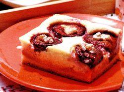 Prajitura cu prune si biscuiti
