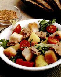 Salata de ton cu sos