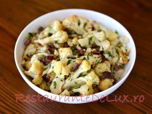 Salata de conopida si capere
