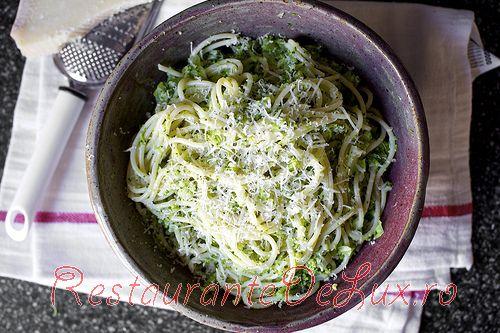 Paste cu crema de broccoli