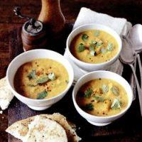 Supa de linte cu menta