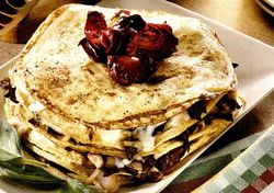 Clatite cu prune si cimbru