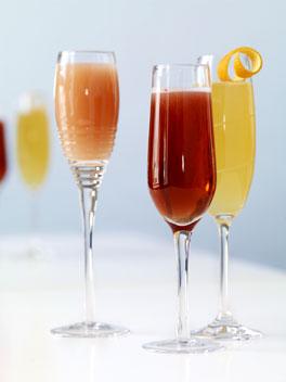 Cocktail cu coniac si vin spumant