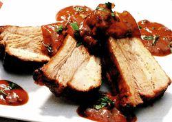 Carne de porc dulce-acrisoara