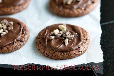 Fursecuri cu ciocolata si capsuni