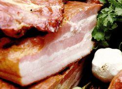 Kaizer (piept de porc marinat si afumat)