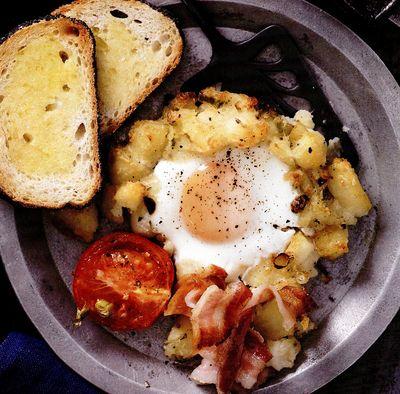 Mic dejun gratinat