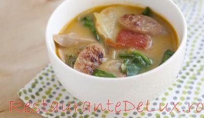 Supa de varza creata