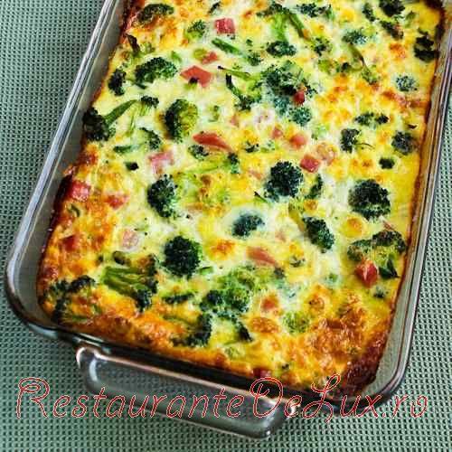 Budinca_cu_broccoli_sunca_mozzarella_si_oua_7