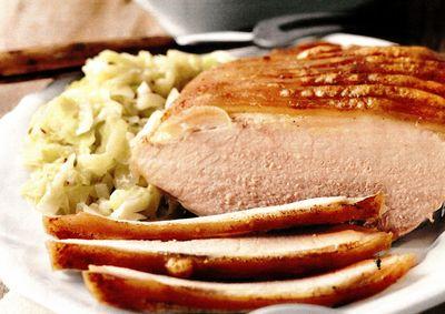 Friptura de porc cu varza