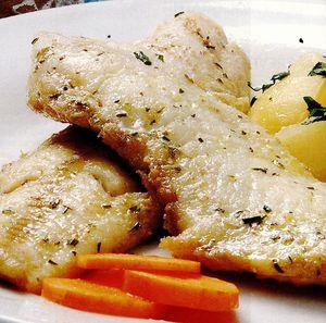 Pangasius cu morcovi