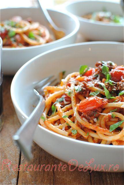 Spaghete Bolognese cu carne de vita