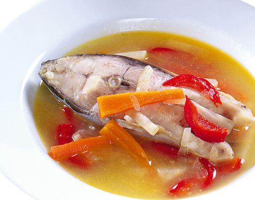 Supa simpla de peste cu legume