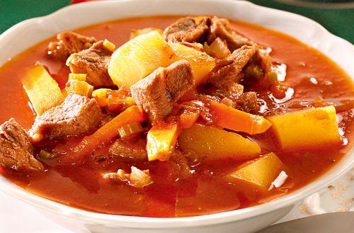 Supa picanta de gulas cu usturoi
