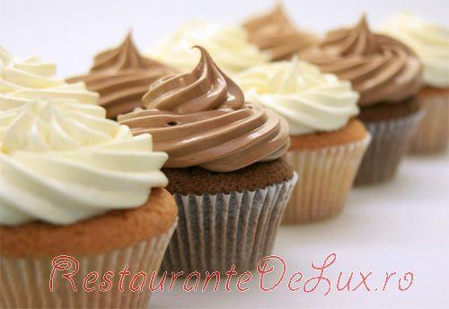 Briose cu vanilie si ciocolata
