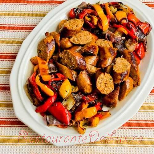 Carnati cu legume coapte