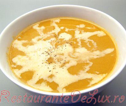 Supa crema de langustine