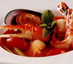 Supa de midii si fasole pestrita
