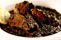 Carne de miel cu spanac sau cu stevie