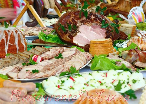 Aperitive pentru masa de Paşti