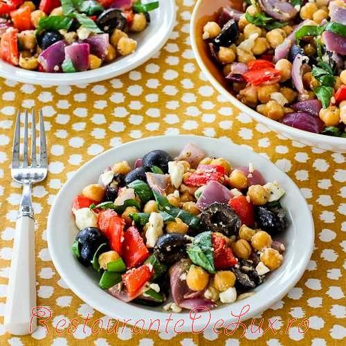 Salata cu fasole si masline