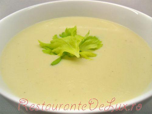 Supa de napi cu usturoi