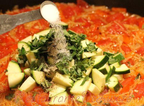 Vermicelli cu legume