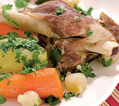 Vitel cu sote de legume