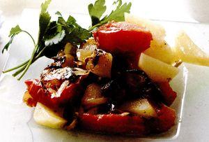 Ghiveci de legume cu usturoi si rozmarin