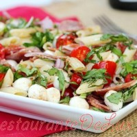 Salata Caprese cu taitei shirataki