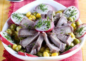 Salata de limba cu ton