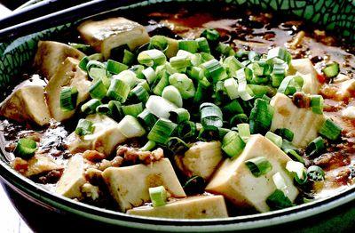 Salata picanta cu tofu