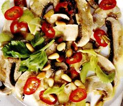 Telina cu ciuperci (varianta)