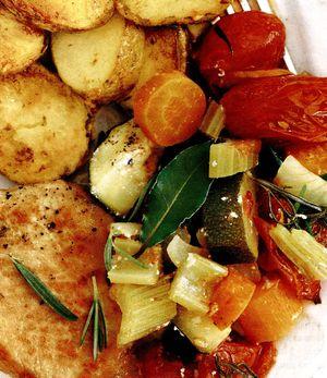 Cartofi la cuptor cu fenicul