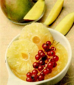Crema de mango cu fistic