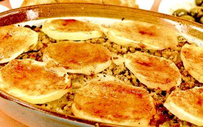 Reteta musaca de cartofi cu soia